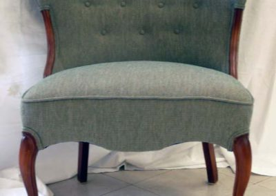 BlueGreenSideChair