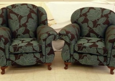 PairPatternedArmchairs