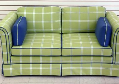 PlaidLoveSeat