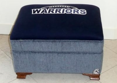 WarriorsFootstool