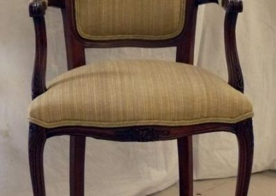 gold_striped_side_chair